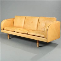 free-standing three seater sofa (model ej20) by jörgen gammelgaard