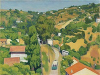 beau temps à montplaisant by albert marquet