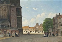 the cathedral square by pierre jean jacques fardon