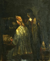a couple by alfred aberdam