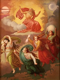 god creating the elements by emmanuel kratky