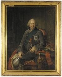 portrait of ferdinand of brunswick-wolfenbüttel by anna rosina lisiewski