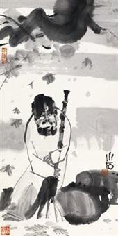 抱扫图 by fu xiaoshi
