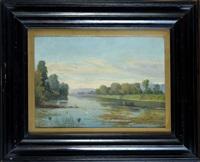 paesaggio fluviale by lorenzo gelati