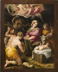 die anbetung der hirten by orazio samacchini