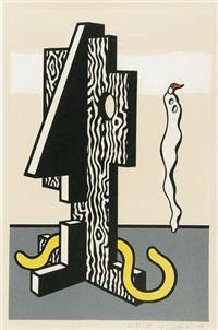 figures (from surrealist series) by roy lichtenstein