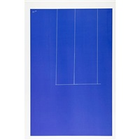 london series 1: untitled (blue) by robert motherwell