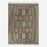 strålblomman flatweave carpet by barbro nilsson