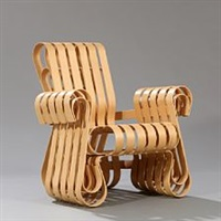 power play armchair by frank gehry