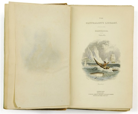 the naturalists library mammalia vol vi ordinary cetacea or whales bk w29 works by william sir jardine editor