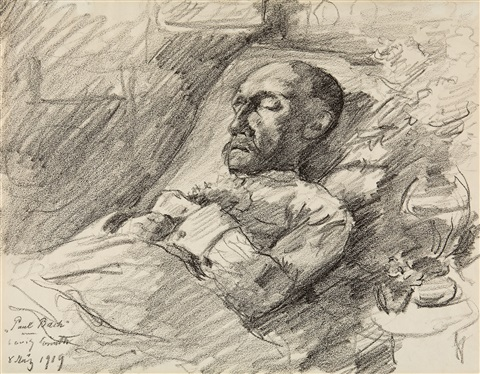 paul bach im bett by lovis corinth