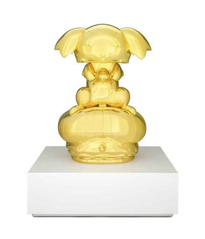 ponchi kun gold by takashi murakami
