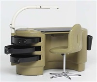 hadi (desk and chair) by ernst igl