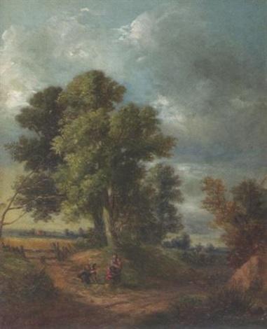 sommerlandschaft by wilhelm boshart