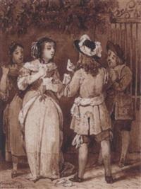 la comtesse d'escarbagnas by robert léopold leprince