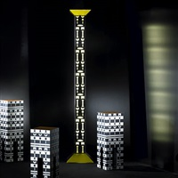 floor lamp (from the ollo collection) by alchimia