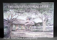 the architectural style of a. hays town (bk w/106 works) by a. hays town