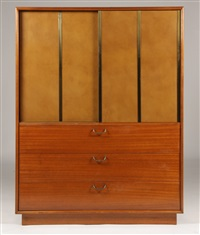 dressing cabinet by harvey probber