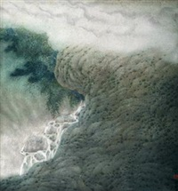 空山雨后 by xu xinrong