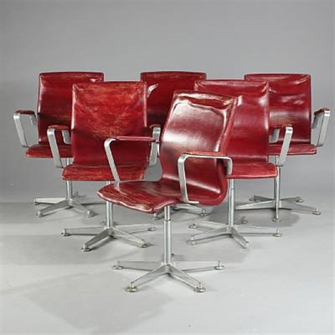 oxford model 3271 set of 6 by arne jacobsen