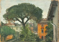 villa romana by pietro annigoni