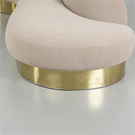 Sectional sofa by Milo Baughman on artnet