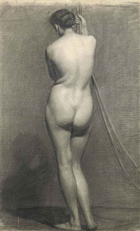 standing female nude by robert walker macbeth