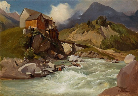 partie am clausenpass by carl maria nicolaus hummel