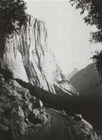 yosemite valley and king's river area by john k. hillers