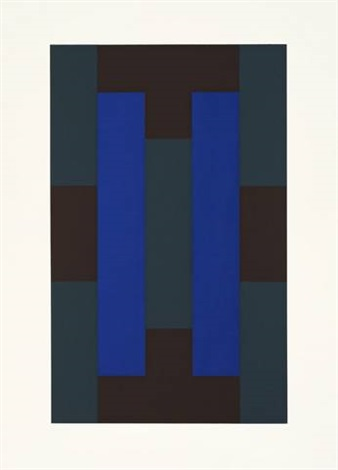 10 screenprints portfolio of 10 by ad reinhardt
