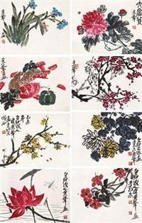 花卉草虫 by qi bingsheng