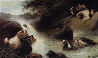 the otter hunt by edwin armfield