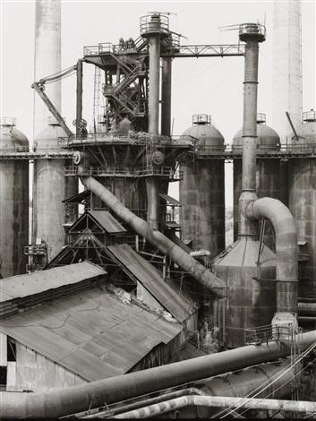 blast furnace ensley alabama usa by bernd and hilla becher