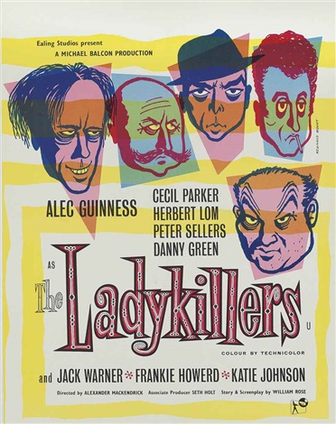 the ladykillers by edward reginald mount