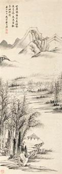 山皋孤亭 by dai benxiao