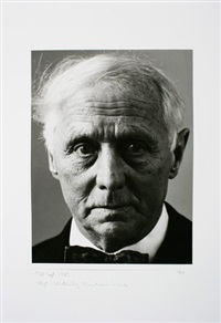 portrait max ernst by fritz kempe