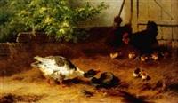 gans und hühner by carl heinrich hoffmann