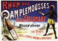 rhum des pamplemousses, léon delamare (poster) by posters: advertising