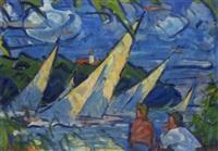 regatta by heinrich emil adametz