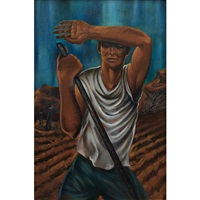 sharecropper by hale aspacio woodruff