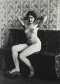 female nude by c. walton shoemaker