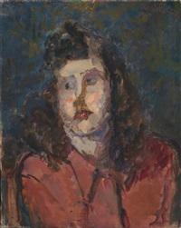 ritratto della moglie vittorina by umberto vittorini