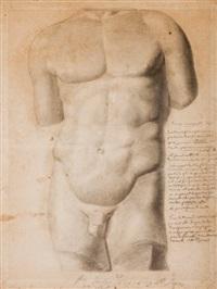 buste d'homme, fin juillet by jean-auguste-dominique ingres