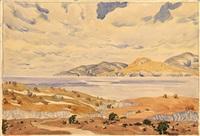 crimean landscape by maximilian alexandrovich voloshin