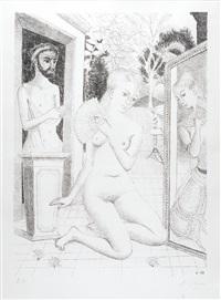l'éventail by paul delvaux