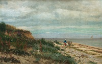 at the baltic sea near kellenhusen by anton asmussen