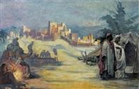 la halte des nomades by emile baes