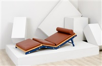 chaise longue by ginevra grilz and fabrizio alborno