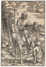 hl. martin zu pferde by hans baldung grien