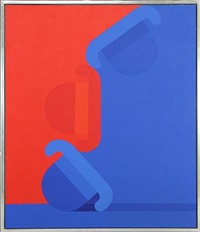 composition with bowler hats by per arnoldi